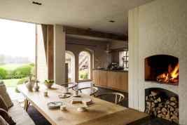 60 beautiful eclectic fireplace decor (13)