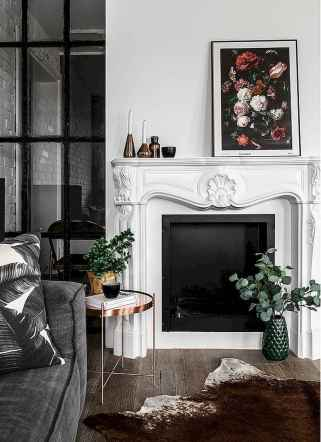 60 beautiful eclectic fireplace decor (20)