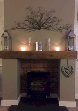 60 beautiful eclectic fireplace decor (21)