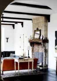 60 beautiful eclectic fireplace decor (48)