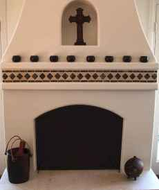 60 beautiful eclectic fireplace decor (51)