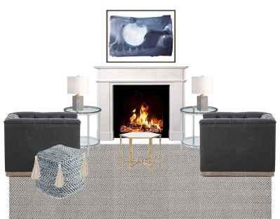 60 beautiful eclectic fireplace decor (56)