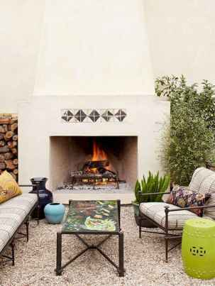 60 beautiful eclectic fireplace decor (9)