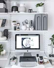 60+ beautiful and subtle home office scandinavian design ideas (17)
