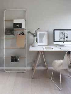 60+ beautiful and subtle home office scandinavian design ideas (35)
