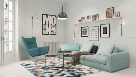 60+ beautiful and subtle home office scandinavian design ideas (51)