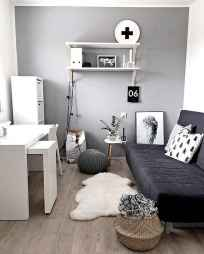 60+ beautiful and subtle home office scandinavian design ideas (65)