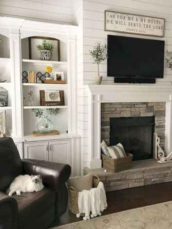 60+ cozy corner fireplace ideas for your home (28)