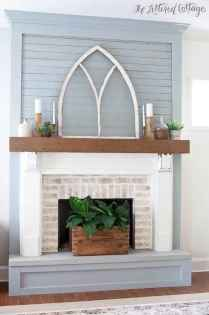 60+ cozy corner fireplace ideas for your home (33)
