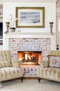 60+ cozy corner fireplace ideas for your home (35)