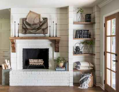 60+ cozy corner fireplace ideas for your home (41)