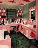 60 cute inspired vintage powder room (48)
