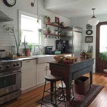 60 eclectic kitchen ideas that charge up your remodel (50)