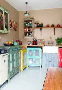 60 eclectic kitchen ideas that charge up your remodel (59)