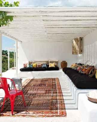 60 incredible utilization ideas eclectic balcony (46)