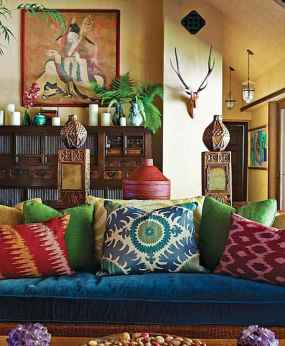 60 modern eclectic living room decorating ideas (13)