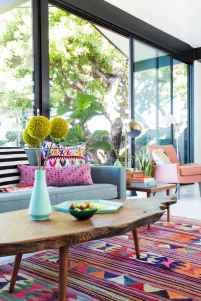 60 modern eclectic living room decorating ideas (18)