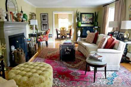 60 modern eclectic living room decorating ideas (47)