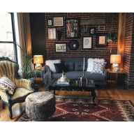 60 modern eclectic living room decorating ideas (56)
