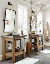 60+ pretty powder rooms with rustic design (11)