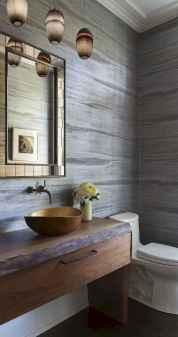 60+ pretty powder rooms with rustic design (31)