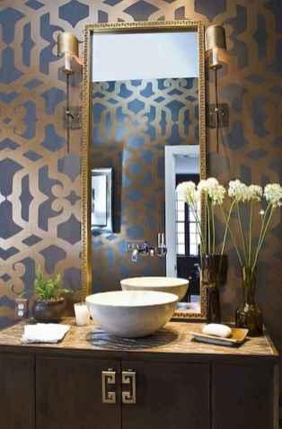 60+ pretty powder rooms with rustic design (52)