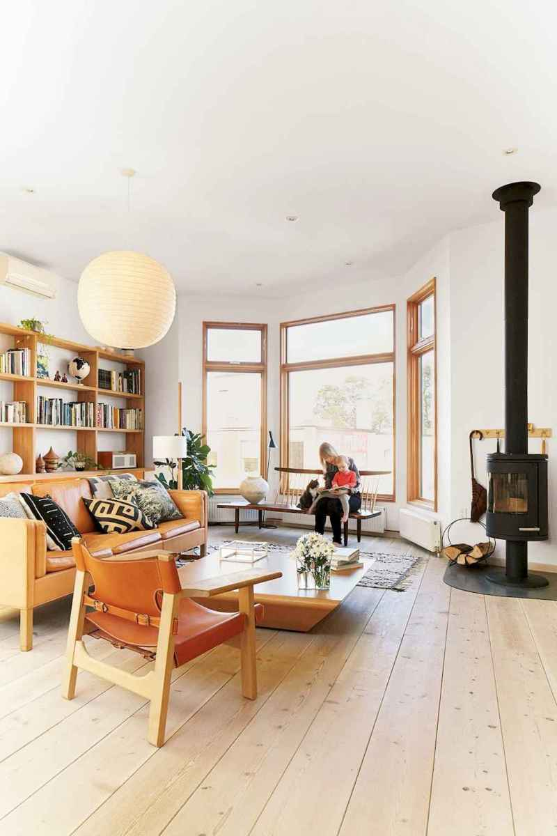 60+ scandinavian fireplace ideas for your living room (23)
