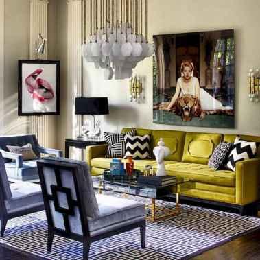60+ vintage living room decor (45)
