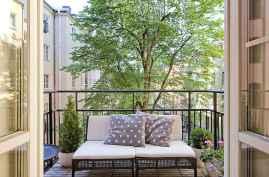 72 smart balcony designs with scandinavian ideas (68)