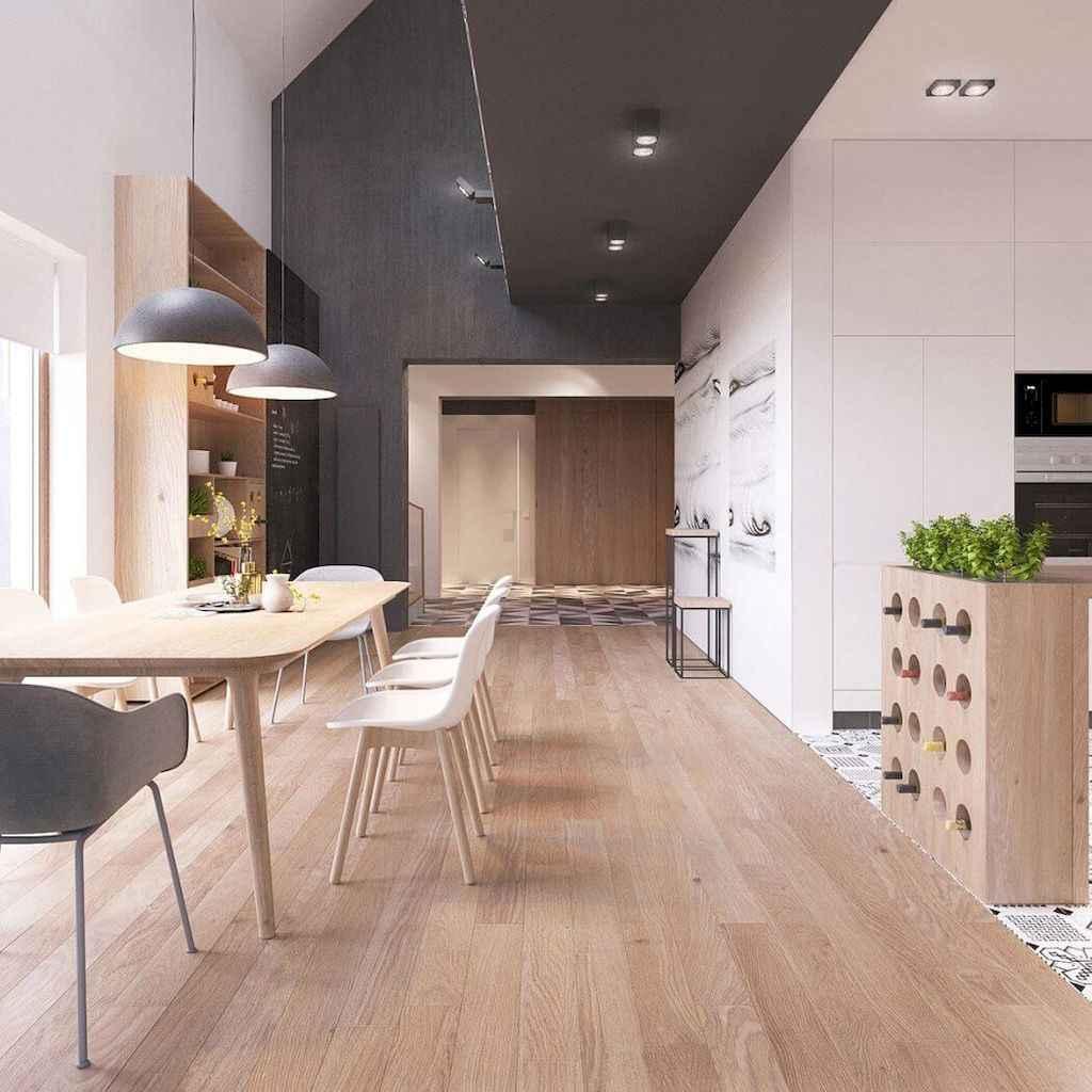 90+ inspiring and inventive scandinavian kitchen ideas (24)