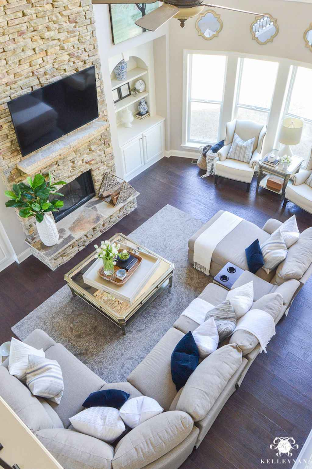 Awesome apartment living room decorating ideas (36)