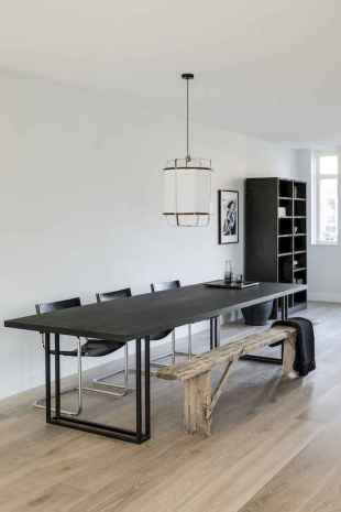Awesome minimalist dining room decorating ideas (13)