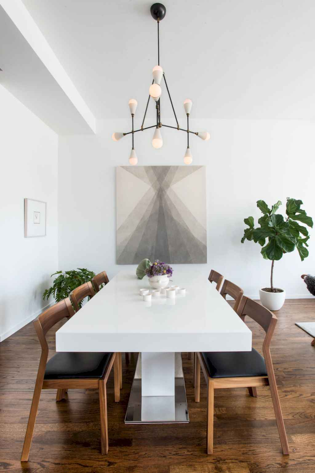 Awesome minimalist dining room decorating ideas (23)