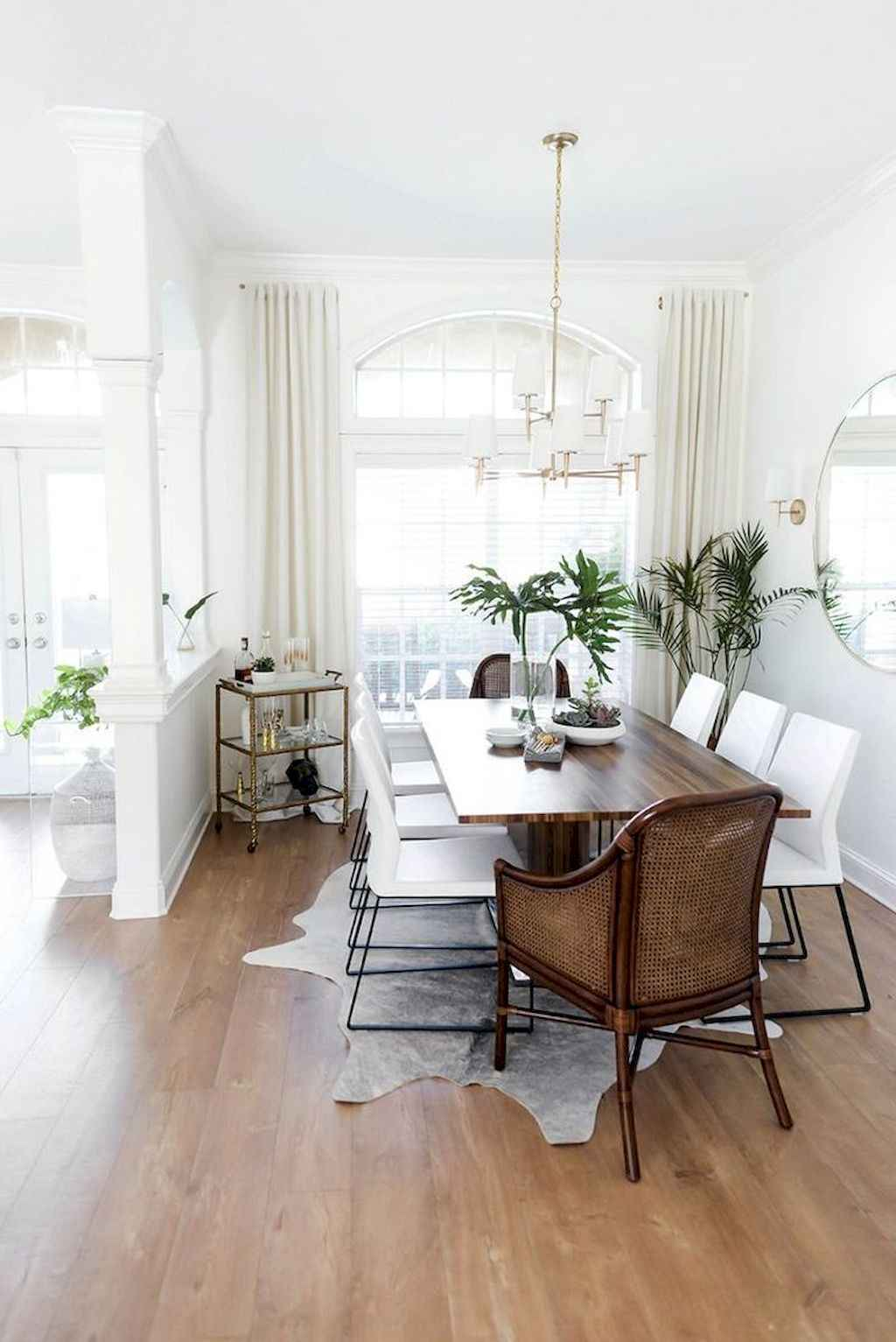 Awesome minimalist dining room decorating ideas (26)