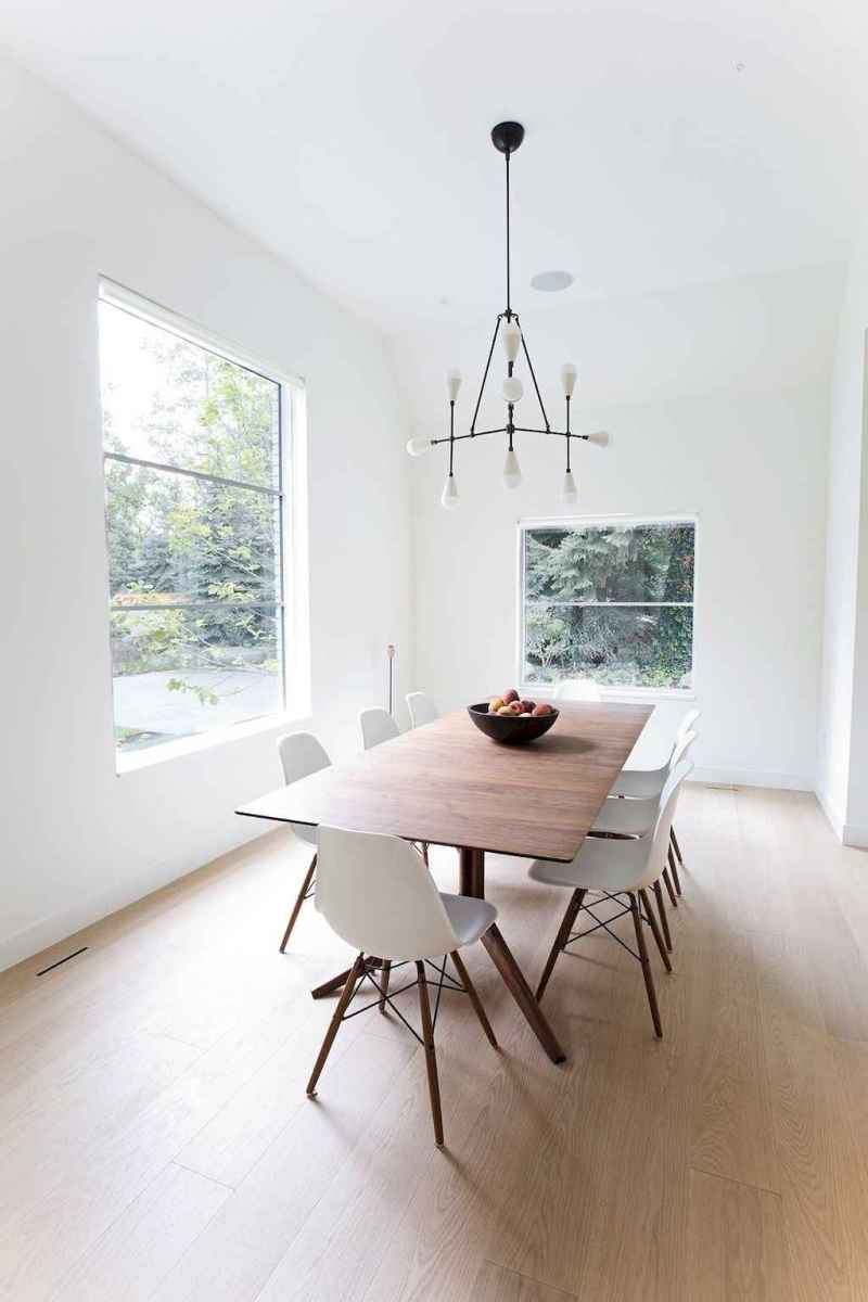 Awesome minimalist dining room decorating ideas (27)