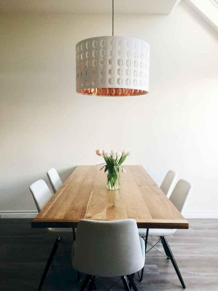 Awesome minimalist dining room decorating ideas (35)