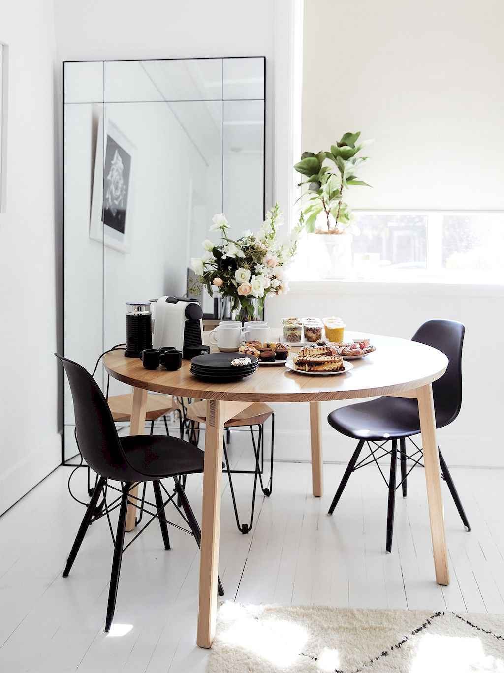 Awesome minimalist dining room decorating ideas (40)