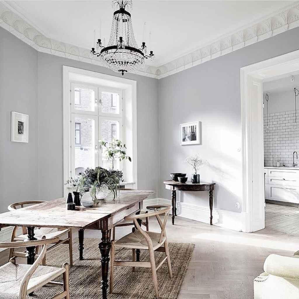 Awesome minimalist dining room decorating ideas (54)
