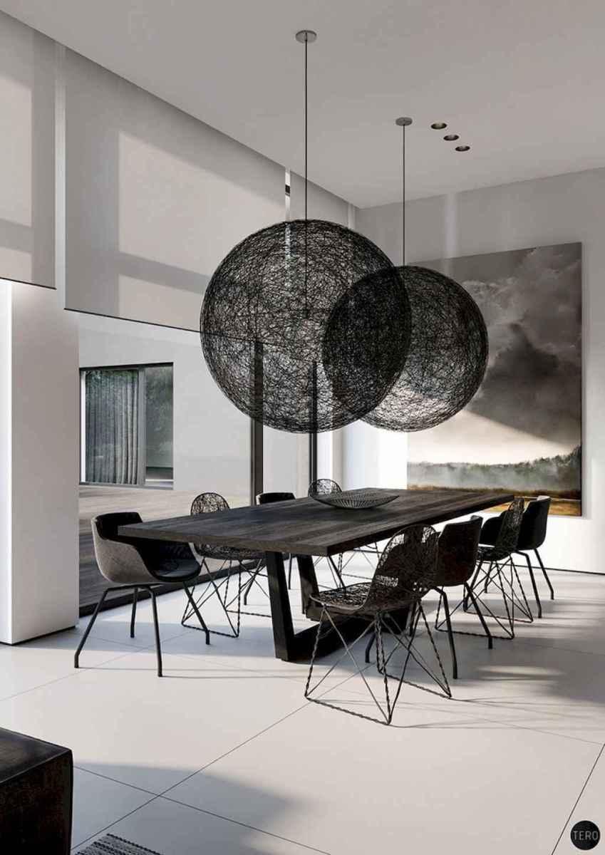 Awesome minimalist dining room decorating ideas (55)
