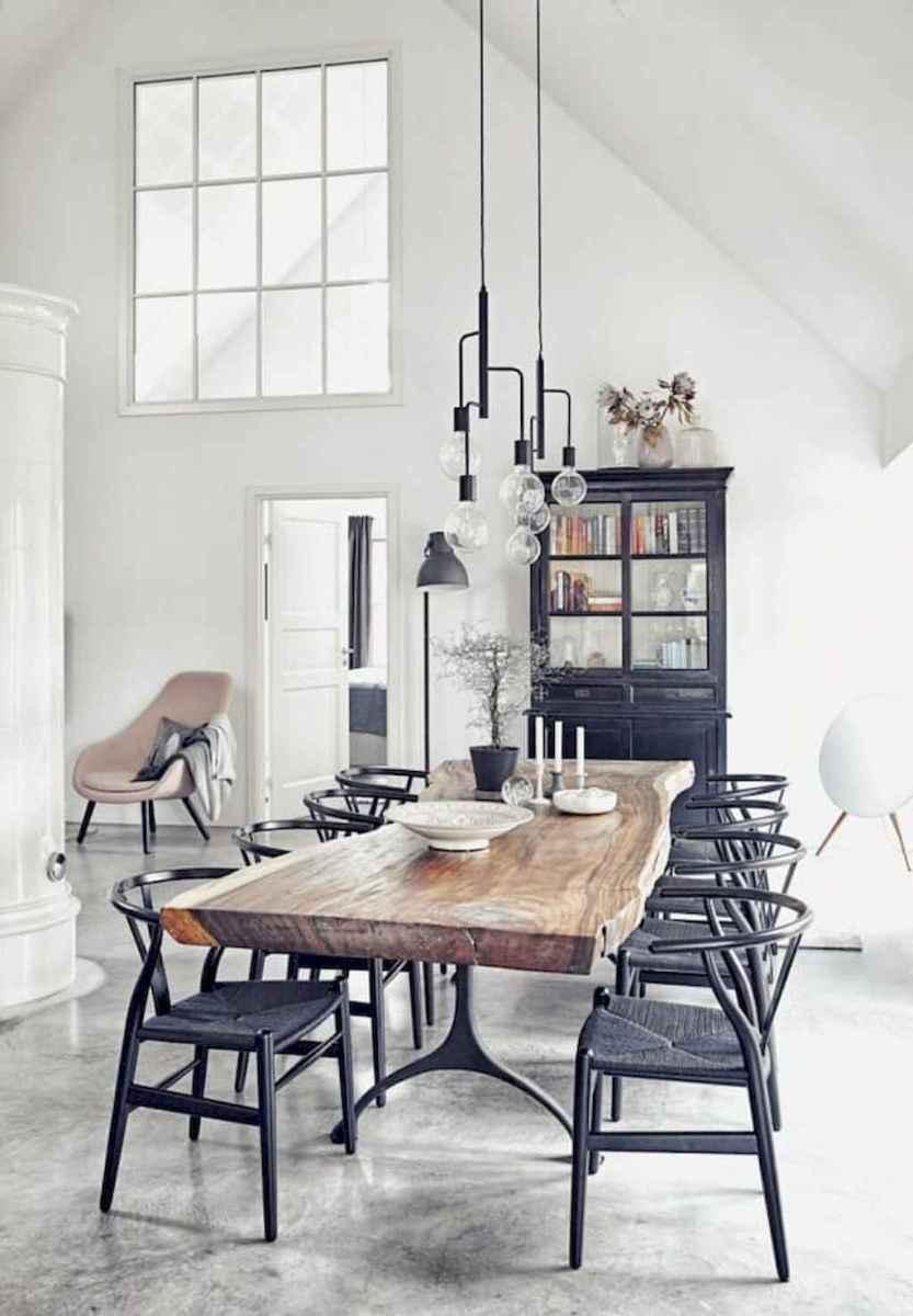 Awesome minimalist dining room decorating ideas (9)