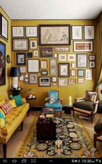Beautiful gallery wall bedroom ideas (51)