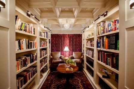 Beautiful home library design ideas (16)