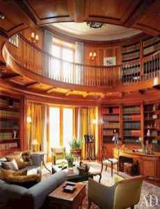 Beautiful home library design ideas (24)