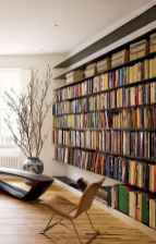 Beautiful home library design ideas (47)