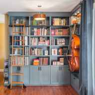 Beautiful home library design ideas (54)