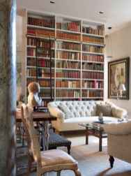 Beautiful home library design ideas (7)