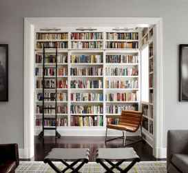 Beautiful home library design ideas (9)