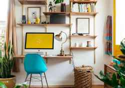 Cool ideas workspace at home (23)