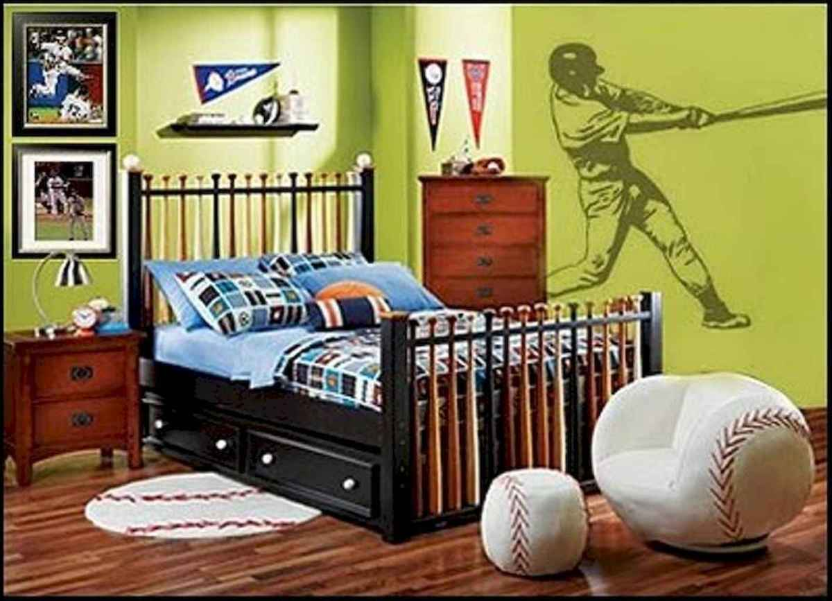Cool sport bedroom ideas for boys (40)