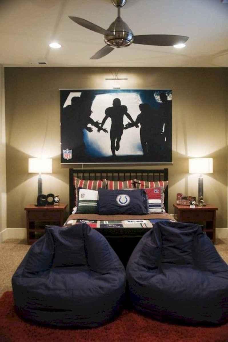 Cool sport bedroom ideas for boys (41)